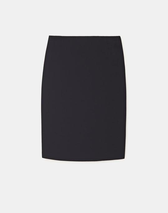 Plus-Size Finesse Crepe Pencil Skirt