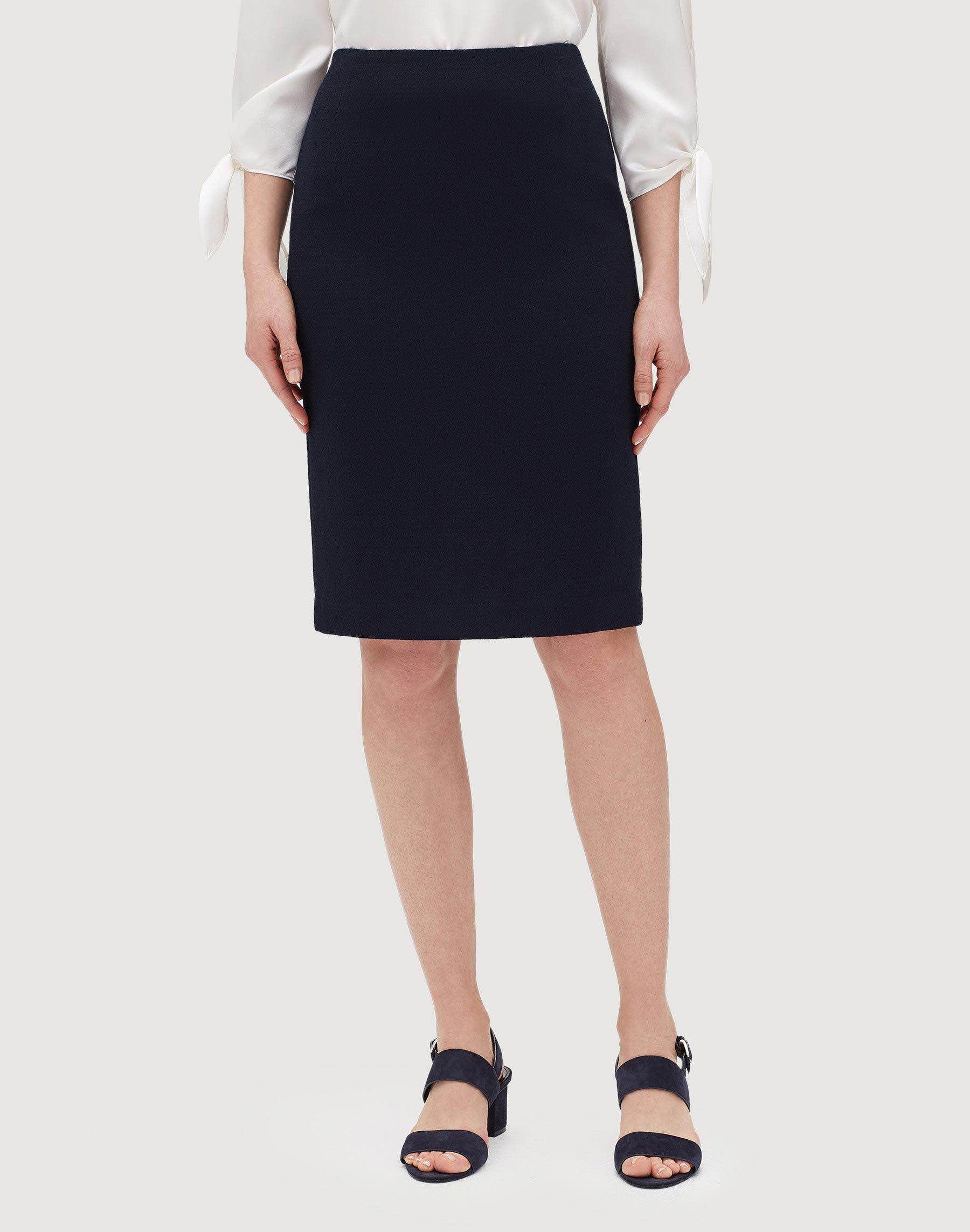 Women's Clothing Skirts Discreet Ladies Check Pencil Skirt
