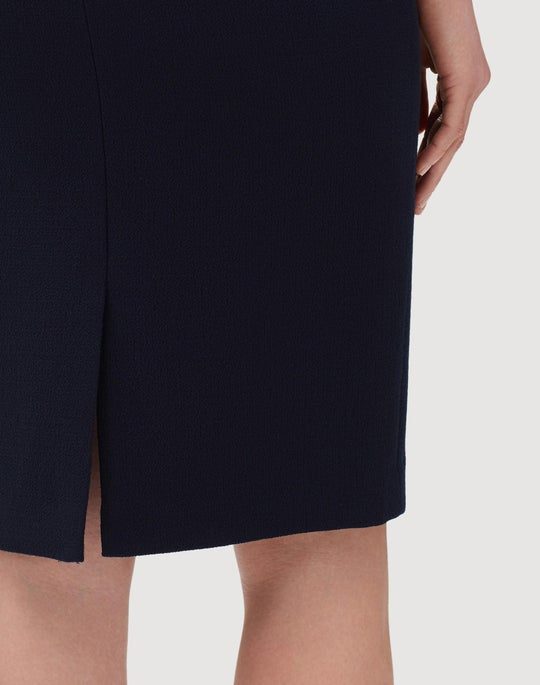 Nouveau Crepe Pencil Skirt