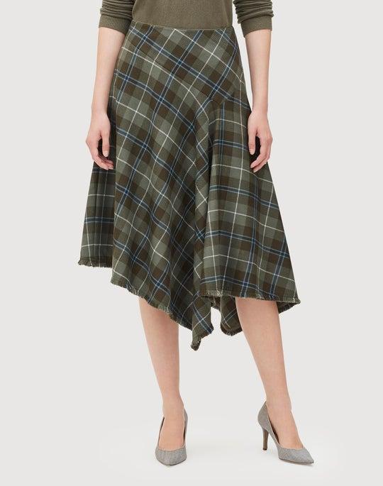 Pastoral Tartan Rosabell Skirt