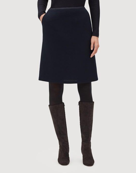 Petite Nouveau Crepe Tula Mini Skirt