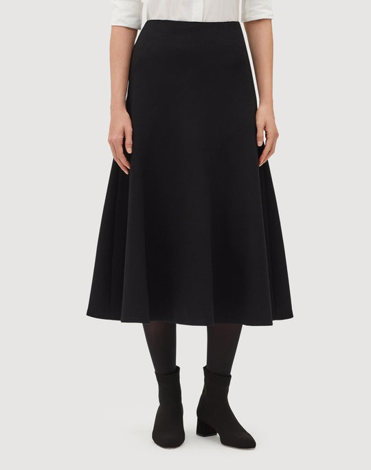 Nouveau Crepe Roma Skirt