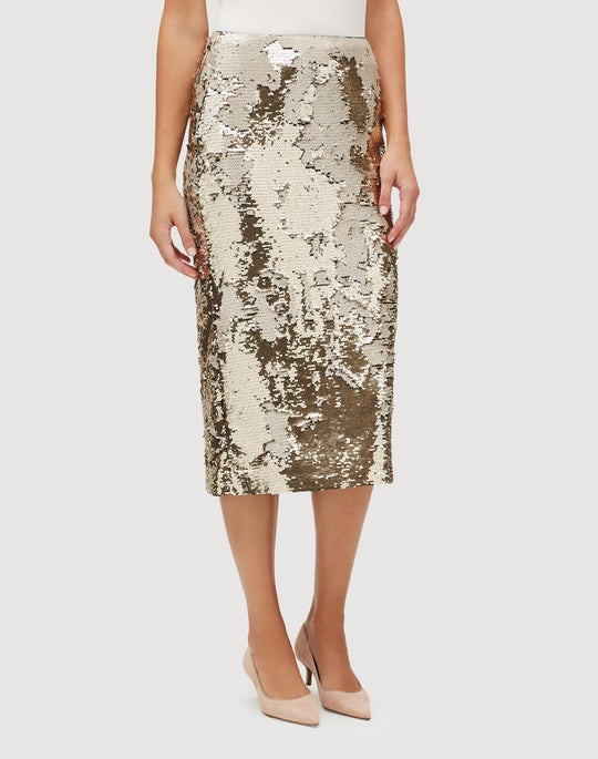 Synergy Sequins Casey Skirt