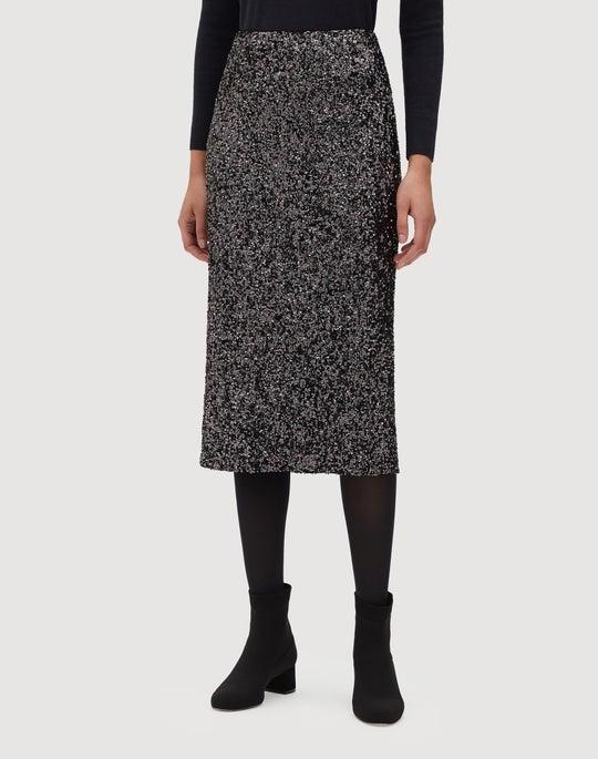 Shimmering Sequins Casey Skirt