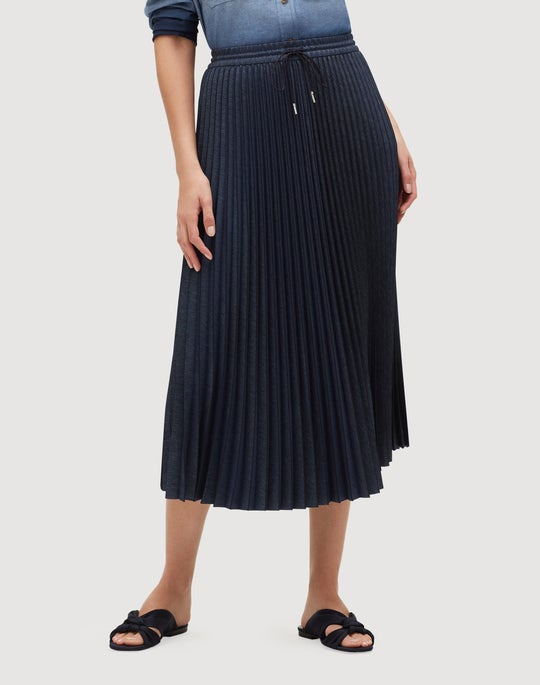 Micro Pleating Gwenda Skirt