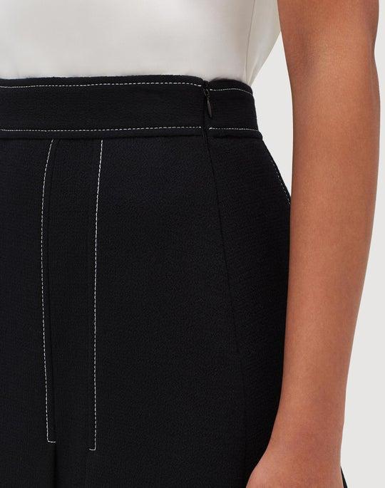 Petite Nouveau Crepe Abra Skirt