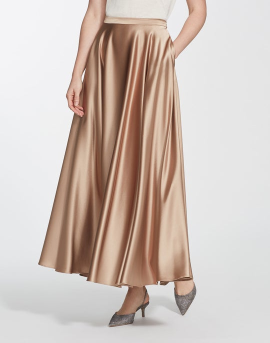 Reverie Satin Cloth Ambria Skirt