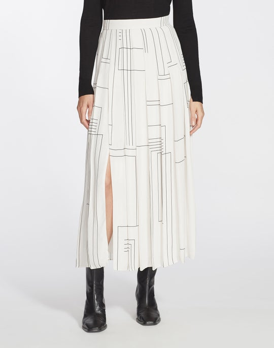 Linking Lines Drape Cloth Eleanor Skirt