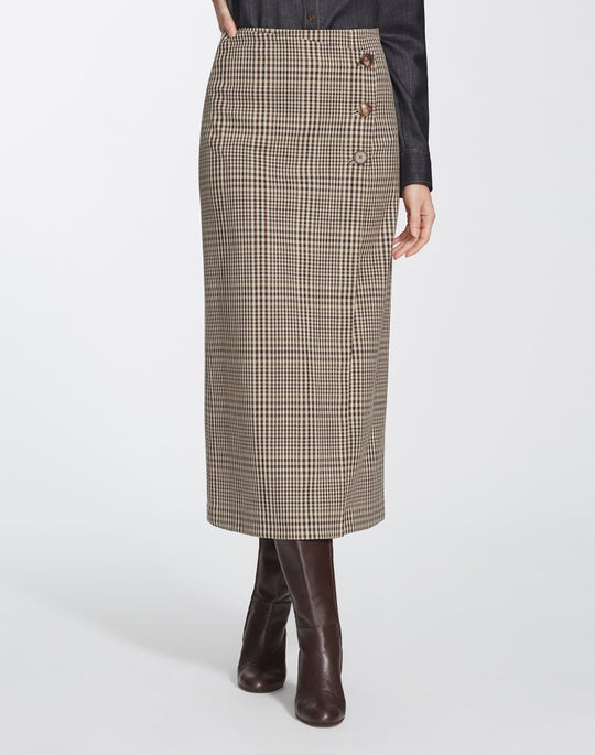 Heritage Plaid Leyla Skirt