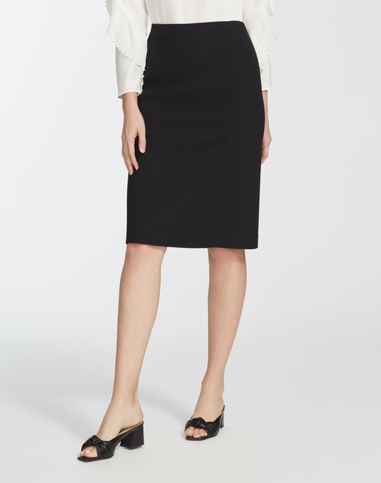 Petite Nouveau Crepe Elin Skirt