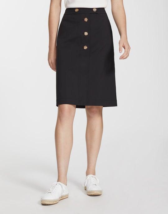 Petite Fundamental Bi-Stretch Taya Skirt