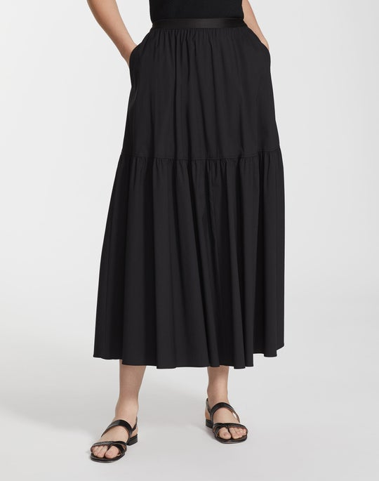 Classic Stretch Cotton Safford Skirt