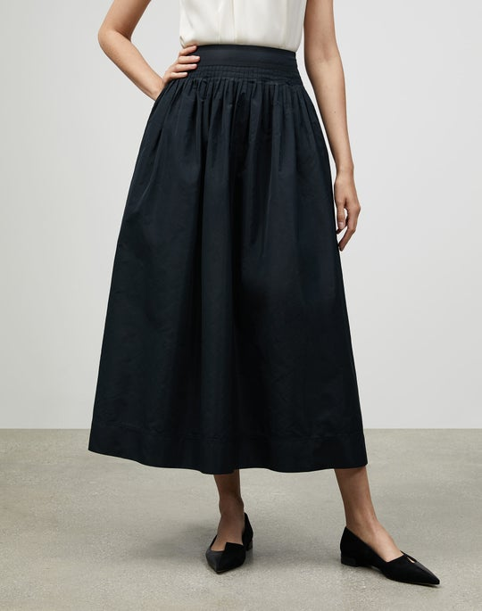 Italian Crafted Taffeta Lyons Skirt