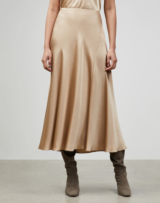 Luxe Charmeuse Sonoma Skirt
