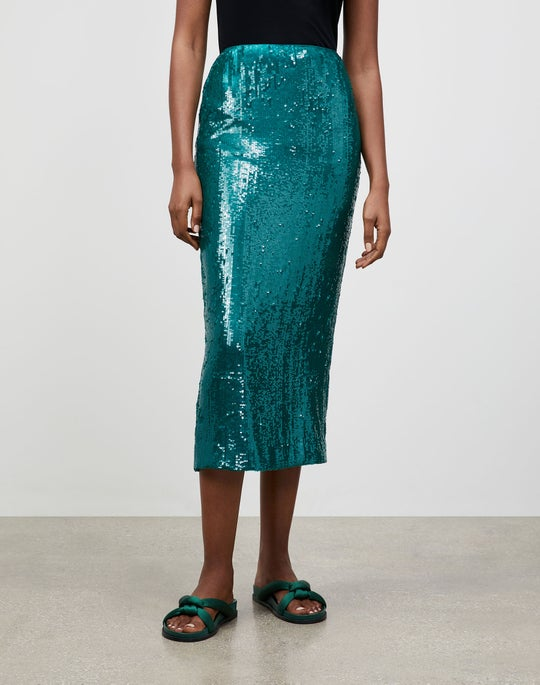Spectrum Sequins Casey Pencil Skirt