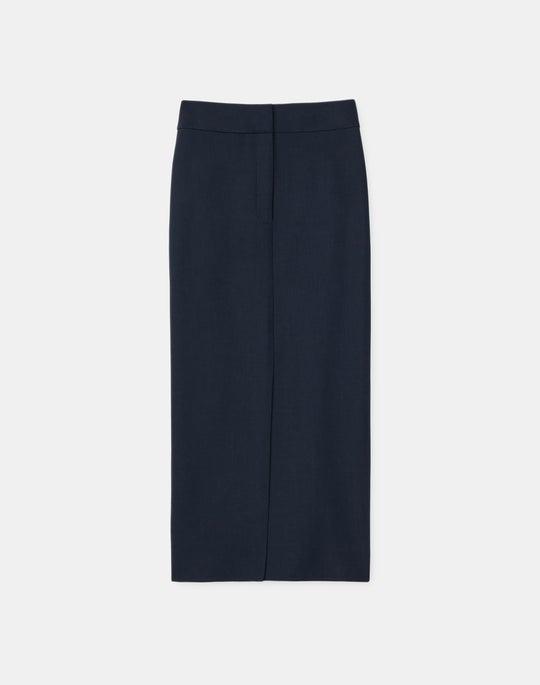 Bruna Skirt In Italian Double Face Wool