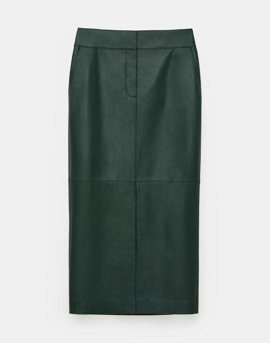 Bruna Skirt In Plonge Lambskin
