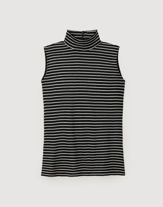 Essential Wool Stripe Teddi Top