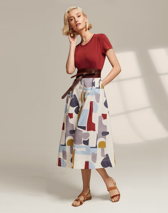 Modern Tee and Orly Skirt
