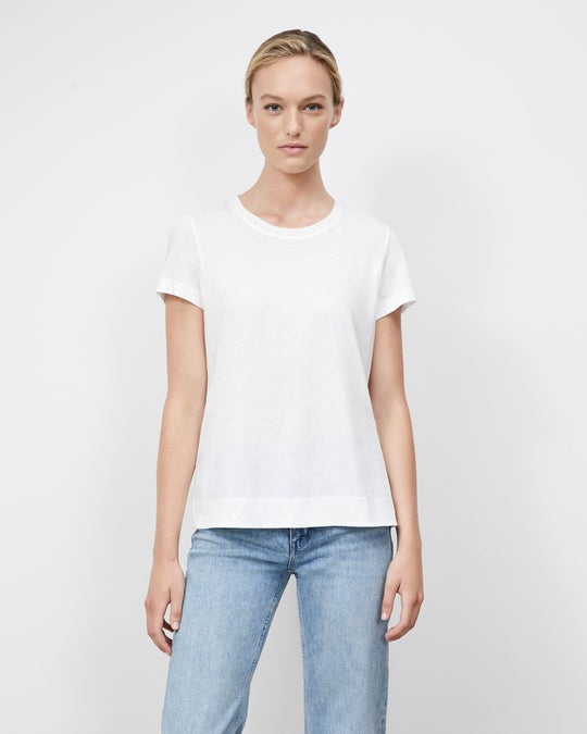 Plus-Size Cotton Jersey Modern Tee