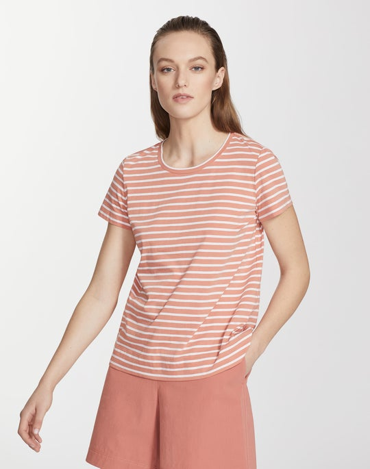 Modern Cotton Stripe Tee