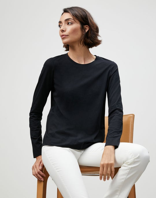 Modern Cotton Jersey Modern Long Sleeve Tee