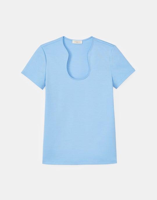 Eden T-Shirt In Swiss Cotton Rib