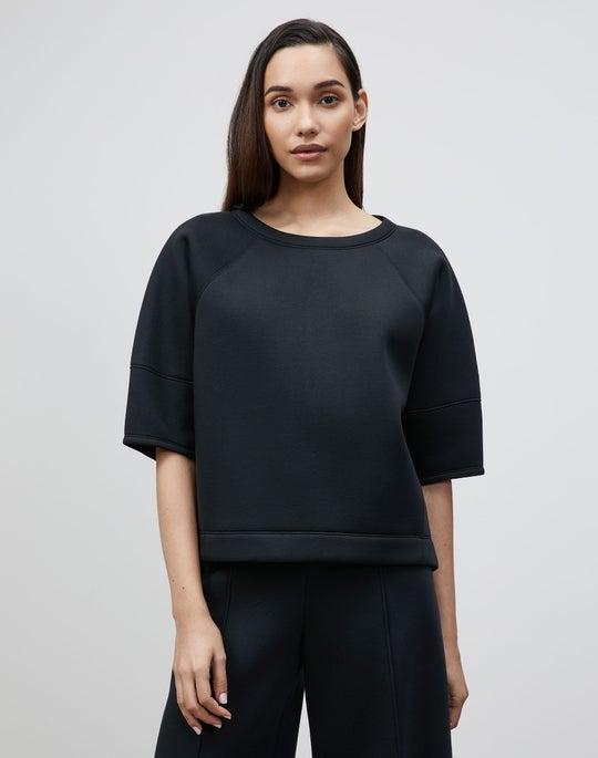 Serifina Sweatshirt In Italian Scuba Jersey