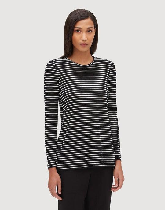 Essential Wool Stripe Lexia Top