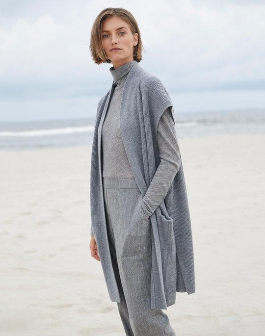 Luxurious Cashmere Jersey Dresden Top