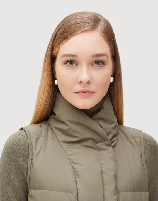 Plus-Size Alpine Outerwear Adora Down Vest