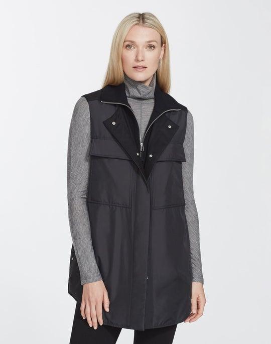 Plus-Size Alpine Outerwear Willis Vest