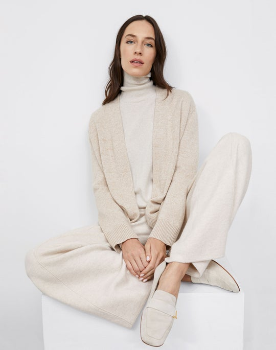 Chine Cardigan and Knit Pull on Pant