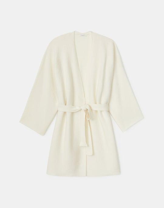 KindCashmere Belted Kimono Cardigan