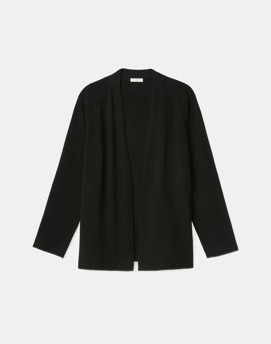 Plus-Size KindCashmere Raglan Sleeve Cardigan