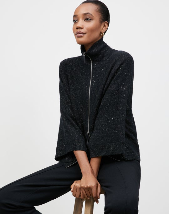 KindCashmere Zip Front Cape