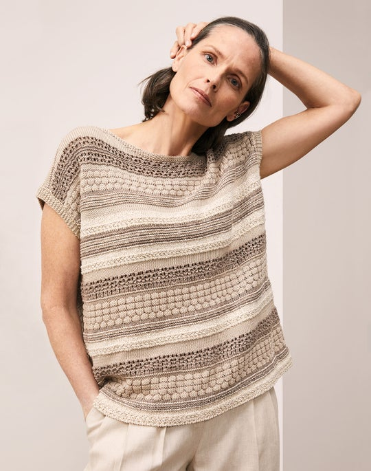 Mixed Stitch Sweater and Vestry Pant