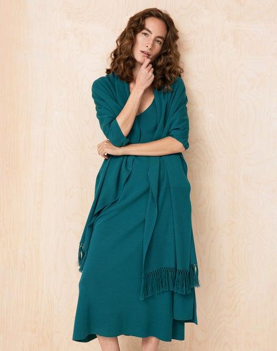 Textured Stitch Cardigan and Dress