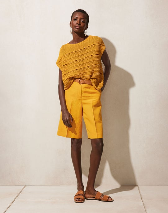Bateau Neck Pullover and Ryerson Short