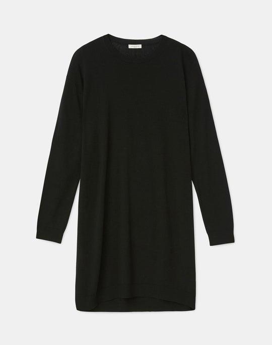 Petite Italian Fine Gauge Merino KindWool Tunic Sweater
