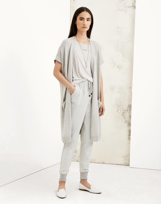 Long Sweater Vest and Chambers Track Pant