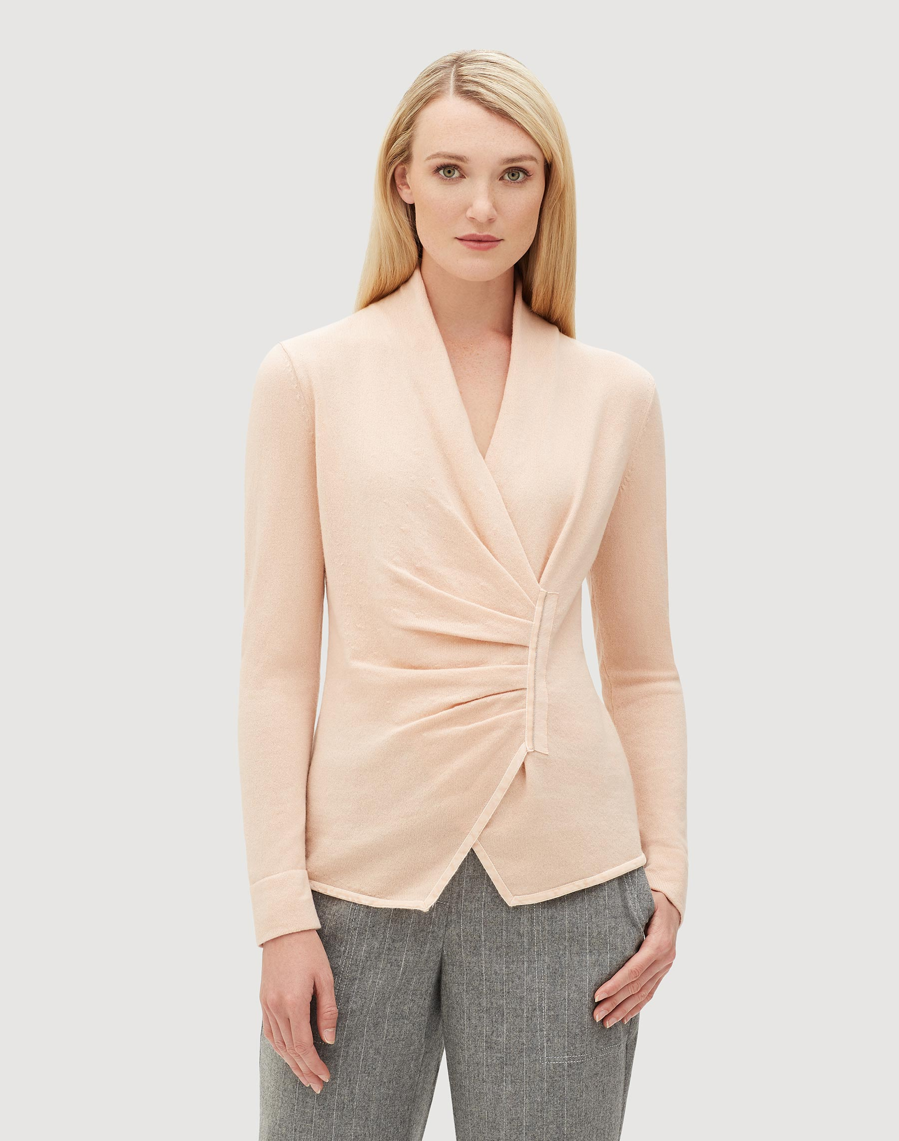 Plus Size Cashmere Asymmetrical Sweater Lafayette 148 New York
