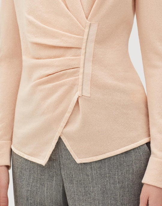 Cashmere Asymmetrical Sweater