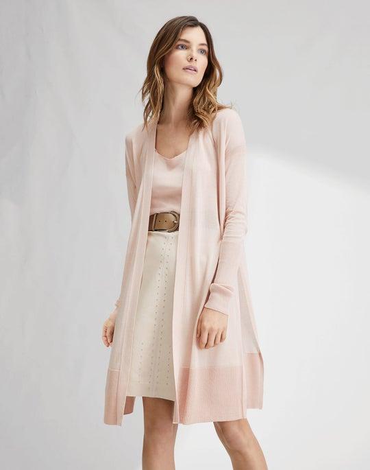 Long Sheer Cardigan and Whitley Skirt