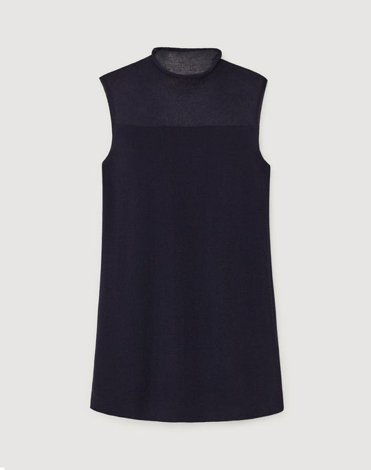 Finespun Voile Sleeveless Shell
