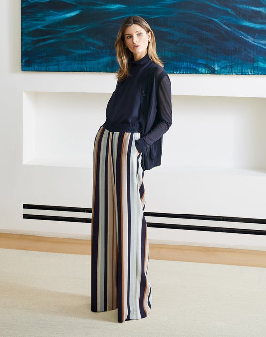 739623bfff84c Sheer Stripe Cardigan and Hester Pant