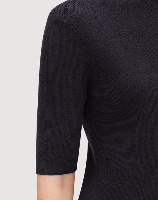 Fine Gauge Merino Skinny Rib Pullover