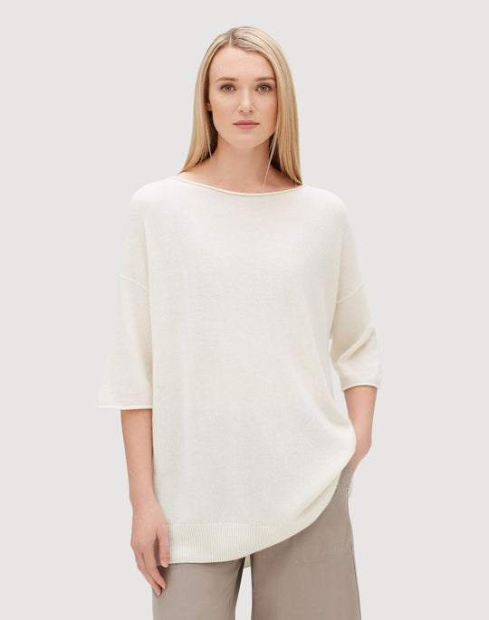 Cashmere Relaxed Pullover