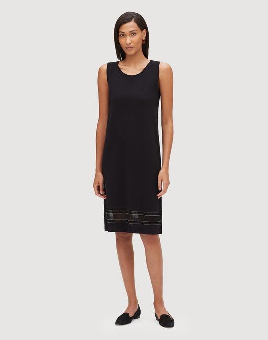 Matte Crepe Sleeveless Dress