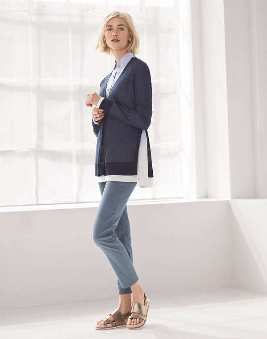 Raglan Cardigan and Mercer Jean
